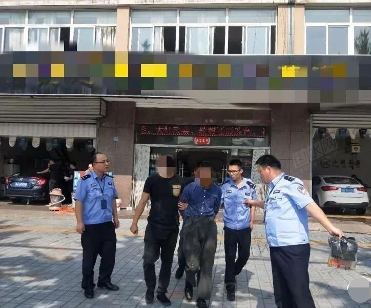 金坛巡特警便衣队成功抓获多起盗窃店面房嫌疑人