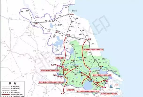 铁路最新规划曝光,常州交通开挂,金坛收益巨大!